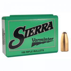 SIERRA VARMINTER SPITZER – 25 CAL 87GR / 100