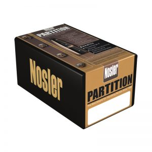 NOSLER PARTITION SPITZER – 6.5MM CAL 100GR / 50