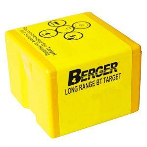 BERGER LONG RANGE BT TARGET – 22 CAL 82GR / 100