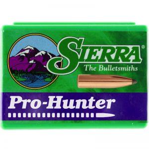 SIERRA PRO-HUNTER SPITZER – 303 CAL .311 DIA 125GR / 100