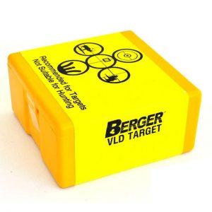 BERGER VLD TARGET – 6MM CAL 115GR / 100