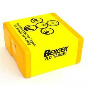 BERGER VLD TARGET – 6.5MM CAL 130GR / 100