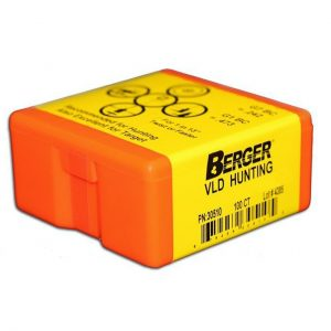 BERGER VLD HUNTING – 7MM CAL 168GR / 100