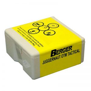 BERGER JUGGERNAUT OTM TACTICAL – 30 CAL 185GR / 100