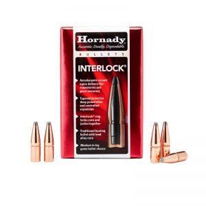 HORNADY INTERLOCK RN – 458 CAL 350GR / 50