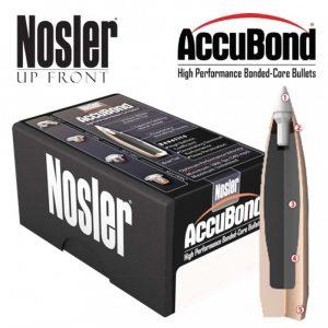 NOSLER ACCUBOND SPITZER – 375 CAL 300GR / 50