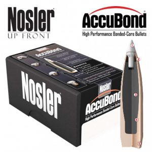 NOSLER ACCUBOND SPITZER – 8MM CAL 200GR / 50