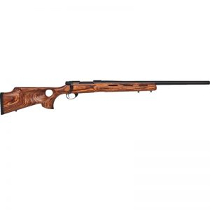 HOWA SHORT ACTION STD BARREL – BLUED FINISH WITH NUTMEG THUMBHOLE STOCK